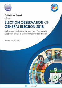 Attitudinal, Environmental Barriers Hinder Transgender People, Women & PWDs from Observing General Elections 2018