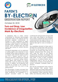Turn-out Drop, Low Incidence of Irregularities Mark By-Elections
