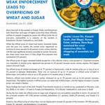 Weak Enforcement Leads to Overpricing of Wheat and Sugar